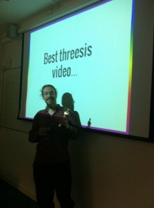 Best threesis video: Thomas Guillerme