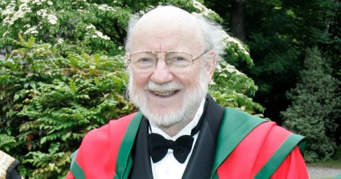 William C. Campbell receiving an Honorary Degree in Trinity College Dublin on 29 June 2012.
